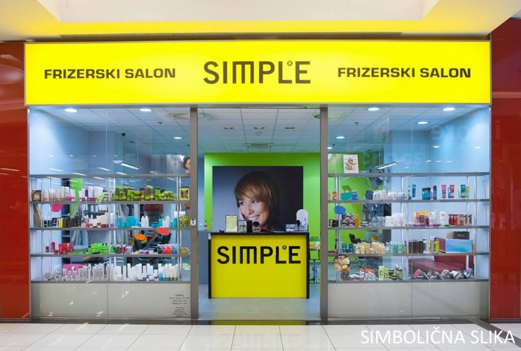 Frizerski salon Simple