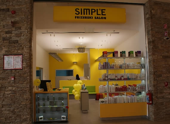 Frizerski salon SIMPLE - Novo mesto Qlandia
